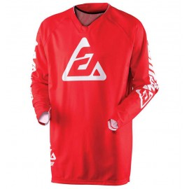 MAILLOT ANSWER ELITE SOLID ROUGE 2019 Taille S
