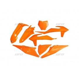 KIT PLASTIQUES UFO KTM SX/SXF 2019 ORANGE