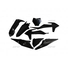 KIT PLASTIQUES UFO KTM SX/SXF 2019 NOIR