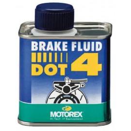 LIQUIDE DE FREIN BRAKE FLUID MOTOREX DOT4 250ML DUP'MX