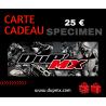 CARTE CADEAU DUP'MX 25€