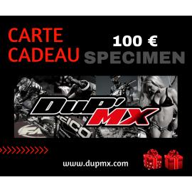 CARTE CADEAU DUP'MX 100€