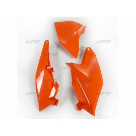 PLAQUES LATERALES UFO ORANGE KTM SX 85 18-19