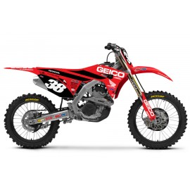KIT DECO HONDA GEICO SAN-DIEGO 19 HONDA CRF 250 18-19 & CRF 450 17-19