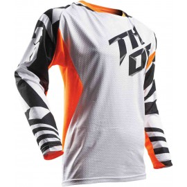 MAILLOT THOR FUSE AIR S7 ORANGE YOUTH Taille L