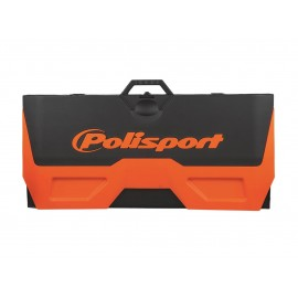 TAPIS ENVIRONNEMENTAL BIKE MAT POLISPORT ORANGE