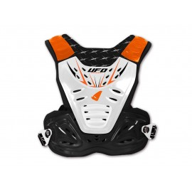 PARE-PIERRE UFO REACTOR 2 EVO ADULTE NOIR BLANC ORANGE