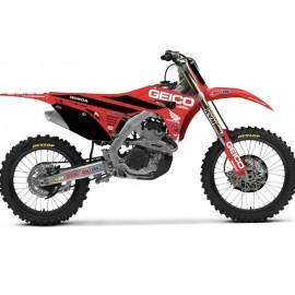 KIT DECO HONDA GEICO HONDA CRF 250 18-20 & CRF 450 17-20