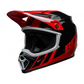 CASQUE CROSS BELL MX-9 MIPS 2020 DASH NOIR/ROUGE DUP'MX