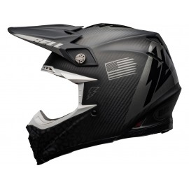 CASQUE CROSS BELL MOTO-9 FLEX SLAYCO 2020 NOIR/GRIS MAT DUP'MX
