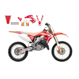 KIT DECO BLACKBIRD TEAM HRC REPLICA 2017 HONDA CR 125/250 2002-2007