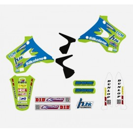 KIT DECO REPLICA TEAM KAWASAKI 1997 KX 125/250 94-98