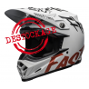 CASQUE CROSS BELL MOTO-9 FLEX FASTHOUSE 2020 WRWF BLANC/ROUGE/NOIR DUP'MX