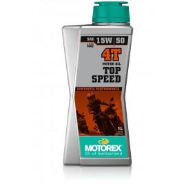 HUILE MOTOREX TOP SPEED 15W50 1L