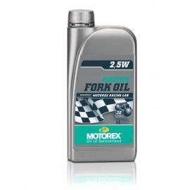 HUILE DE FOURCHE MOTOREX RACING FORK OIL 2,5W 1L DUP'MX
