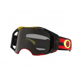 MASQUE OAKLEY AIRBRAKE FREQUENCY RED YELLOW