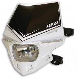 PLAQUE PHARE UFO STEALTH BLANC DUP'MX