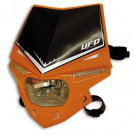 PLAQUE PHARE UFO STEALTH ORANGE DUP'MX