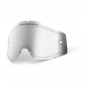 Ecran 100% miroir double silver ventilé Racecraft / Accuri / Strata