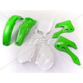 KIT PLASTIQUES UFO KX125/250 00-02 DUP'MX