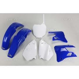 KIT PLASTIQUES UFO YZ125/250 00-01 DUP'MX