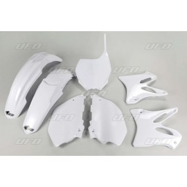 KIT PLASTIQUES YZ125-250 06-10 BLANC DUP'MX
