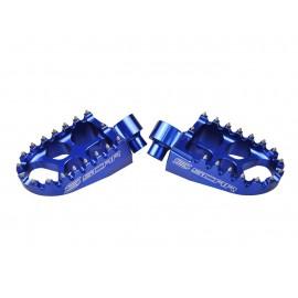 REPOSE PIEDS SCAR EVO BLEU HUSQ. HVA/KTM 16-17 DUP'MX