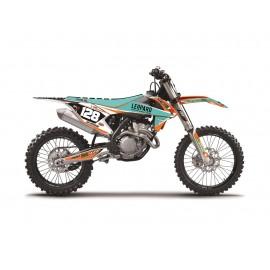 KIT DECO COMPLET BLACKBIRD MARCHETTI REPLICA KTM DUP'MX