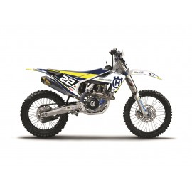 KIT DECO COMPLET MADDII RACING REPLICA HUSQVARNA DUP'MX