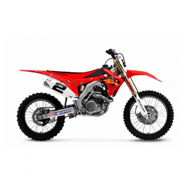 KIT DECO RC4 REPLICA HONDA CRF 450 2017/2018 et CRF 250 2018
