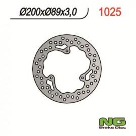 DISQUE DE FREIN AVANT FIXE GAUCHE NG TC65 17-18 SX65 05-18