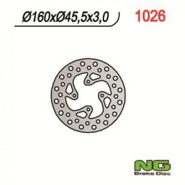 DISQUE DE FREIN FIXE ARRIERE DROIT NG TC65 17-18 SX65 05-18