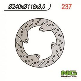 DISQUE DE FREIN FIXE AVANT GAUCHE NG CR125/250 91