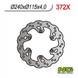 DISQUE PETALE ARRIERE FIXE NG YZ125, 250, 250F, 400F