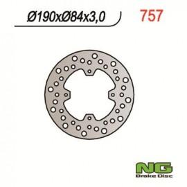DISQUE DE FREIN FIXE ARRIERE DROIT NG YZ85 02-17 YZ80 93-01