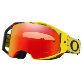 MASQUE OAKLEY AIRBRAKE HIGH VOLTAGE YEL/RED