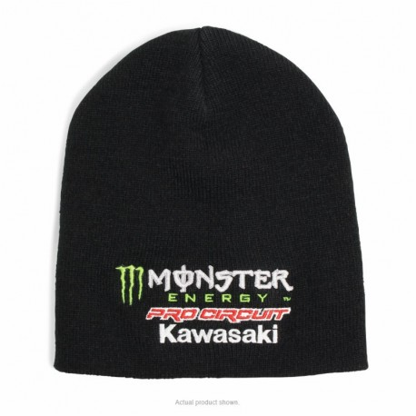 BONNET PRO CIRCUIT MONSTER ENERGY TEAM NOIR