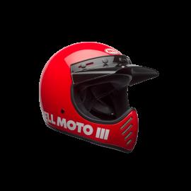CASQUE BELL MOTO 3 CLASSIC ROUGE T.XS DUP'MX