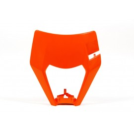 PLAQUE PHARE RACETECH KTM EXC/EXCF 17-18 ORANGE