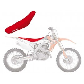 HOUSSE DE SELLE GRAPHIC LINEAR BLACKBIRD HONDA CRF250 14-17 CRF450 13-17
