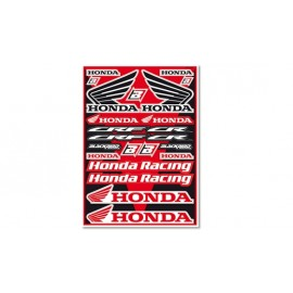 PLANCHE STICKERS HONDA CR-CRF