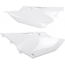 PLAQUES LATERALES UFO BLANC YAMAHA YZ 125/250 15-18