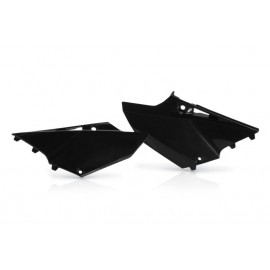 PLAQUES LATERALES UFO NOIR YAMAHA YZ 125/250 15-18