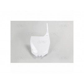 PLAQUE FRONTALE UFO BLANC YAMAHA YZF 250-450 10-17 & YZ 125/250 15-18