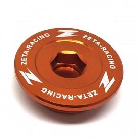 Bouchon de carter moteur ZETA ORANGE KTM