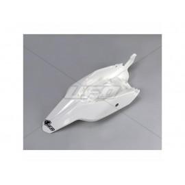 GARDE BOUE ARRIERE UFO BLANC KTM SX 65 09 -15