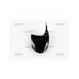 PLAQUE FRONTALE UFO NOIR KAWASAKI KXF 450 09-12