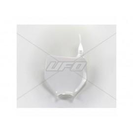 PLAQUE FRONTALE UFO BLANC KAWASAKI KX 125/250 03-04