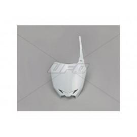 PLAQUE FRONTALE UFO BLANC SUZUKI RMZ 250 10-18 & RMZ 450 08-17