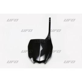 PLAQUE FRONTALE UFO NOIRE YAMAHA YZF 450 2018